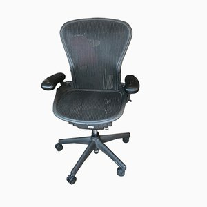 Aluminum Aeron Desk Chair from Herman Miller, 1990s
