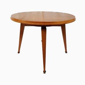 Französischer Esstisch aus Eschenholz von Robert Debieve für Minvielle, 1960er