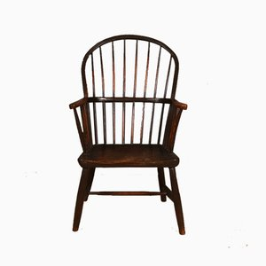 Antique Wooden Windsor Armchair