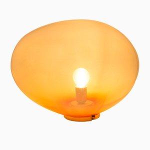 Lampada da tavolo Planetoide Cenature S color corallo di Simone Lueling per ELOA