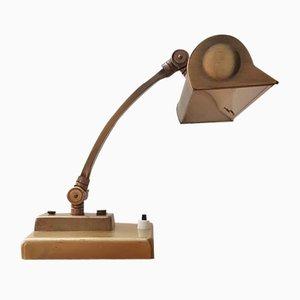 Lámpara de mesa de latón de Oscar Cebriá Ortuño para Lámparas Cebria, años 70