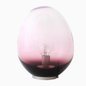Planetoide Astrea Purple Iridescent S Table Lamp by Simone Lueling for ELOA