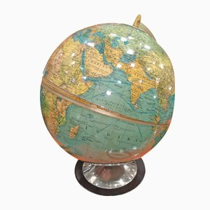 Vintage Globe with Bar Set from Columbus, 1948