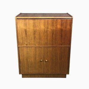 Vintage Scandinavian Modern Teak Bar Cabinet, 1970s