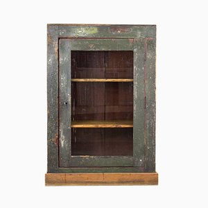 Vintage Industrial Display Cabinet, 1920s