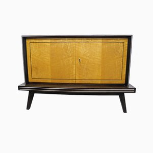 Mid-Century German Maple and Walnut Sideboard, 1950s