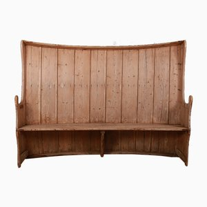 Antique Pine Tavern Bench