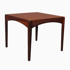 Danish Rosewood Side Table by Kristian Vedel, 1960s