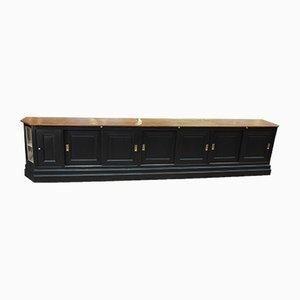 Antikes französisches Sideboard aus Tannenholz im Jugendstil