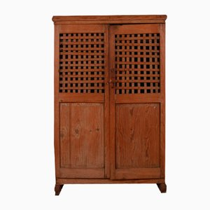 Antique Spanish Pine Food Cupboard