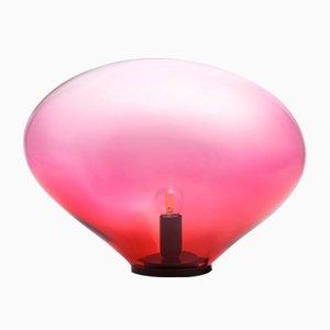 Lámpara de mesa Sedna M en color rubí de Simone Lueling para ELOA