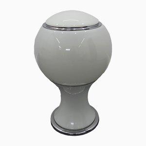 Lampe de Bureau Mongolfiera en Chrome par Gianni Celada pour Fontana Arte, 1960s
