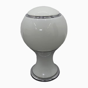 Mongolfiera Tischlampe aus Chrom von Gianni Celada für Fontana Arte, 1960er