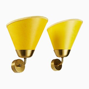Brass Model G-2141 Sconces by Josef Frank for Svenskt Tenn, 1950s, Set of 2