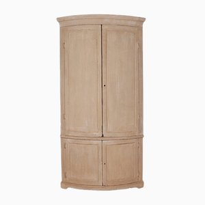 Antique English Corner Cupboard, 1790s