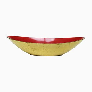 Swedish Brass Bowl by Gunnar Ander for Ystad-Metall, 1960s