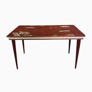 Tavolo da pranzo Mid-Century di Umberto Mascagni, anni '50