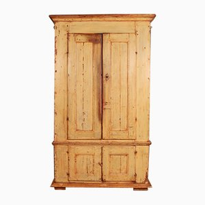 Antique Swedish Linen Cupboard, 1740s