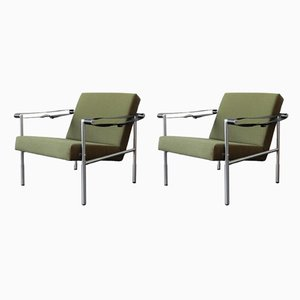SZ38/SZ08 Easy Chairs by Martin Visser & Dick van der Net for 't Spectrum, 1960s, Set of 2