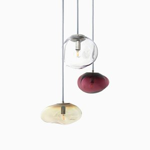 Lampes à Suspension Planetoid Amor, Juno et Airisi par Simone Lueling pour ELOA, Set de 3