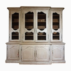 Large Antique French Oak Cupboard, 1850s