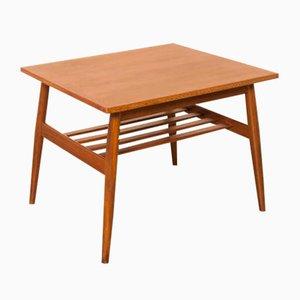 Tavolino Mid-Century impiallacciato in teak, anni '50