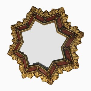 Vintage Golden Star Mirror