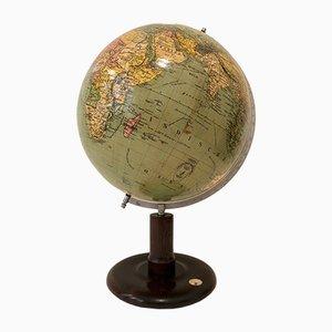 Deutscher Art Deco Globus von Columbus, 1930er