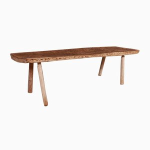 Antique Wood and Sycamore Coffee Table, 1860s