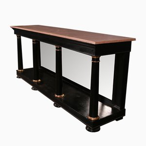 Mid-Century French Empire Style Console Table, 1960s