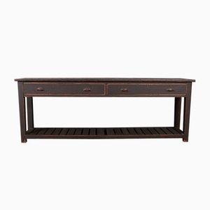 Antikes Sideboard aus Holz & Zink