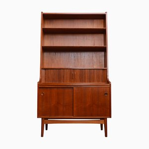 Danish Teak Secretaire by Johannes Sorth for H.C. Møbler, 1960s