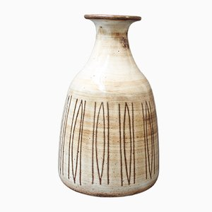 Mid-Century Ceramic Vase by Jacques Pouchain, 1960s
