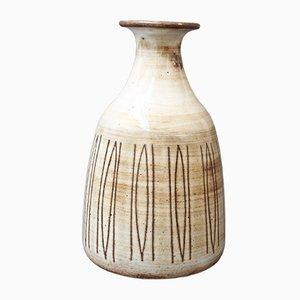 Vaso Mid-Century in ceramica di Jacques Pouchain, anni '60