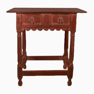 Table Console Antique en Bois