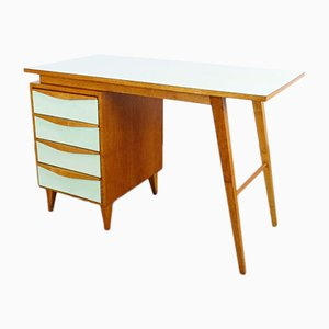 Mid-Century Bakelite and Wood Desk, 1960s