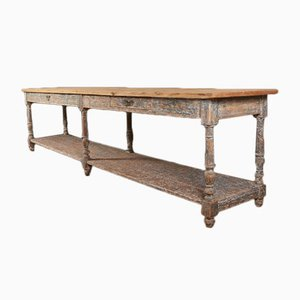 Table Console Antique en Bois, France