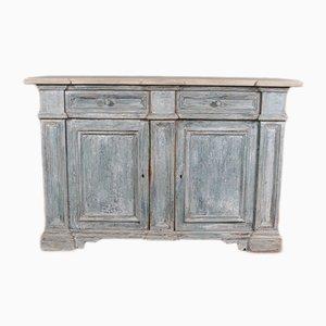 Bufet italiano antiguo de madera, década de 1860