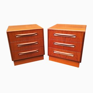 Teak Dressers from G-Plan, 1970s, Set of 2