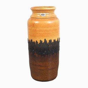 Vintage German Ceramic Floor Vase from Bay Keramik, 1970s