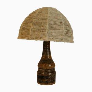 Lámpara de cerámica, años 60