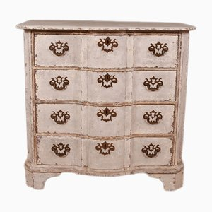 Antique Serpentine Dresser, 1780s