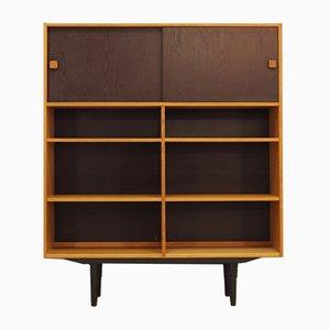 Dänisches Bücherregal aus Eschenholzfurnier von Domino Mobler, 1970er