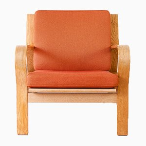 Model GE-671 Armchair by Hans J. Wegner for Getama, 1960s