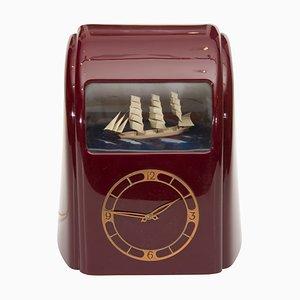 Vintage Art Deco Uhr von Vitascope