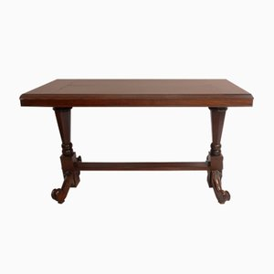 Antique Italian Chestnut Console Table