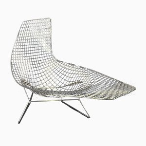 Steel Chaise Lounge by Harry Bertoia for Knoll Inc., 2000s