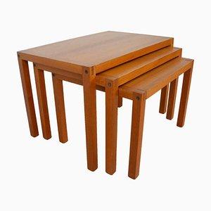 Tavolini a incastro Mid-Century di Trioh, Danimarca, anni '60
