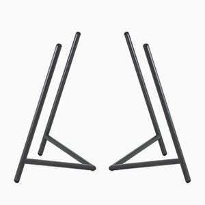 Varius Table Trestle Set in Umbra Grey by Rahmlow, 2018