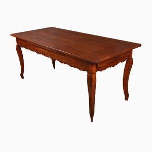 Antiker französischer Bauerntisch aus Kirschholz